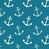 Dark Blue Anchors
