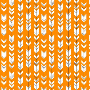 Fletching arrows (small scale) // orange