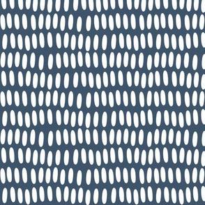 Prehistoric Confetti - Deep Blue