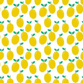 summer lemon tropical citrus cute kids nursery baby