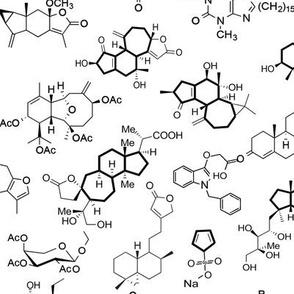 Molecules - White - Small