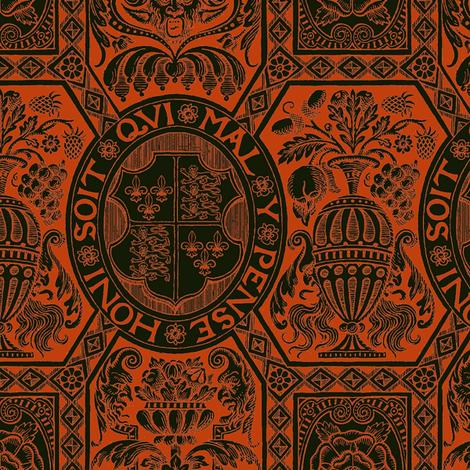 Tudor Damask 1b