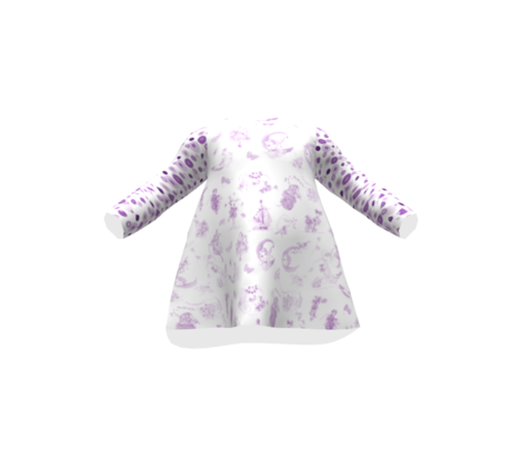 Dandy Dots to Match Lavender Whispering Daydreams