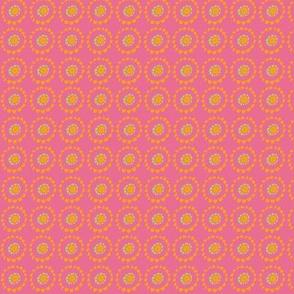 Spring Foulard Coordinate Pink