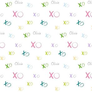 XO Large - candy crush PERSONALIZED