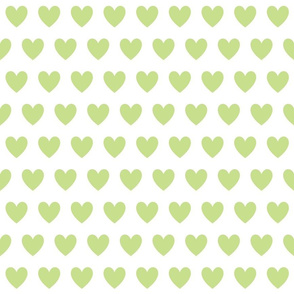 small green hearts