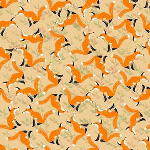 Scattered Foxes
