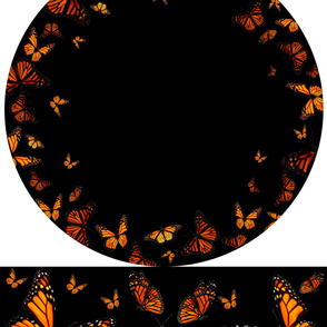 Monarch Butterfly Circle Skirt