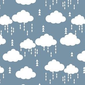 cloud clouds raincloud clouds rain raining blue kids nursery baby