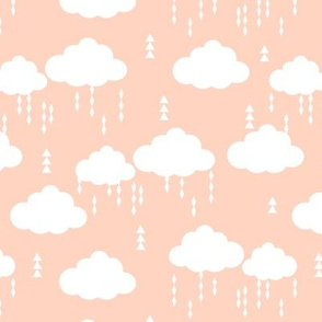 clouds blush rainclouds rain cloud girls nursery baby