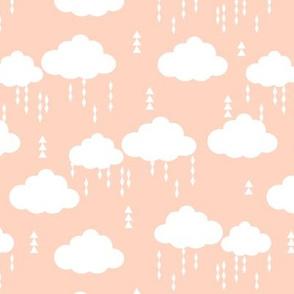 clouds blush rainclouds rain cloud girls nursery baby