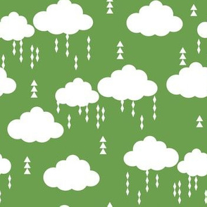 raincloud green cloud clouds kids rain