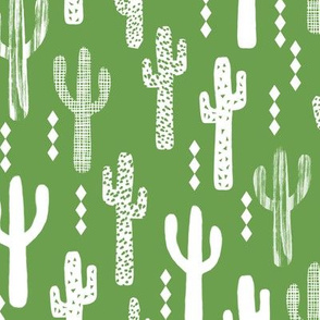 cactus bright green southwest desert triangles texture