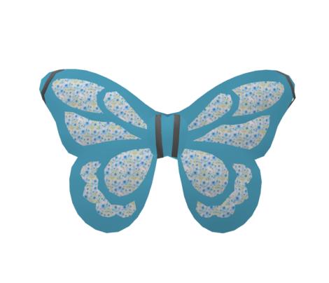Daisy Fairy Medium Blue Solid