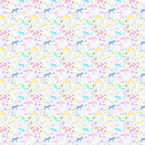 Unicorn mini print