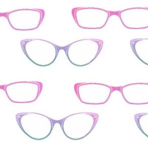 Watercolour Glasses