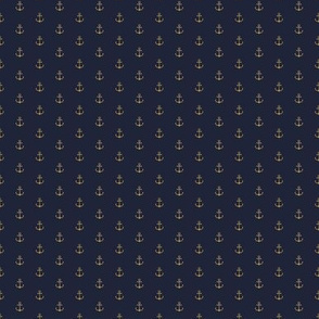 Anchor Navy Gold (small)