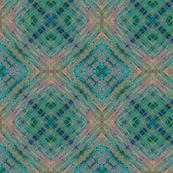 Geometric pattern. Watercolor