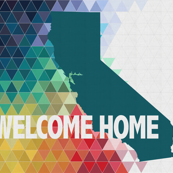 Welcome Home California Quilt Top
