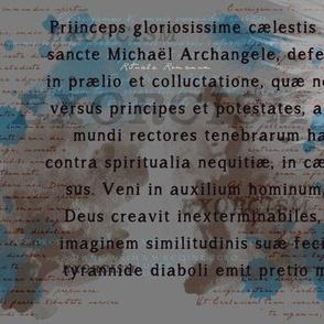 Supernatural Exorcism Fabric