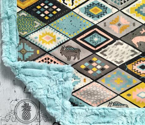southwestern patchwork