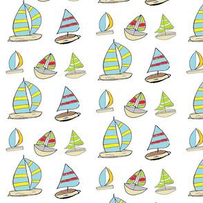 Sailing Away LARGE - Tropicana