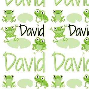 Custom Frog Fabric