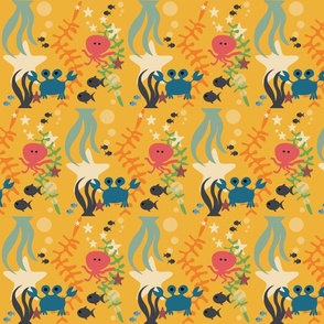 Sea life yellow