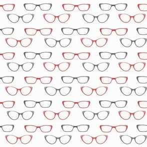 Glasses (Black and Red variant)