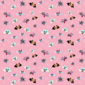 Cutie Bats in Pink-ed