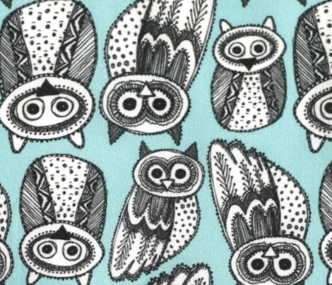 Decorative Hand dravn Cute Owl