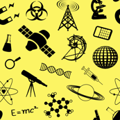Science on Yellow - Large