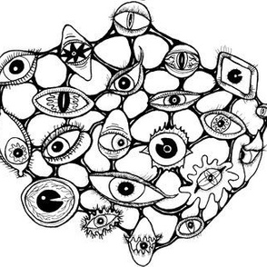 #SFDesignADay Abstract The Eyes have it, large scale