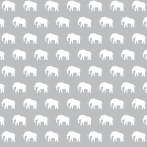White Elephants on Grey