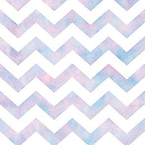 Watercolor Chevron Pattern 1