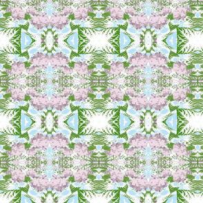 tapestry Garden - blue