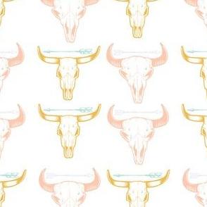 Arrow on Cow Skull