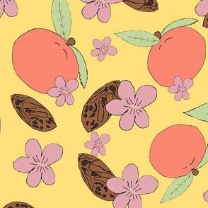 Pit, Petals, Peach