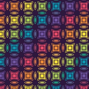 Stained Glass Geometric