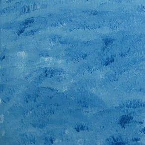 Oil Paints, blue