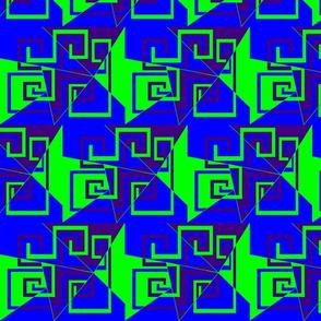 6 - Geometric - Whimsical_Mazes_-_Green_Blue_Purple
