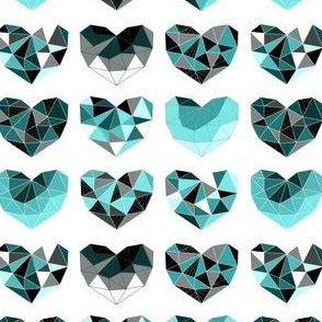 Geometric Heart (ice variant)