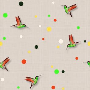 Colibri&Brugmansia Coordinate