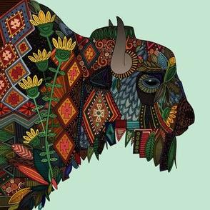 bison mint swatch