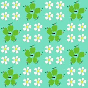 flowering-green-apples
