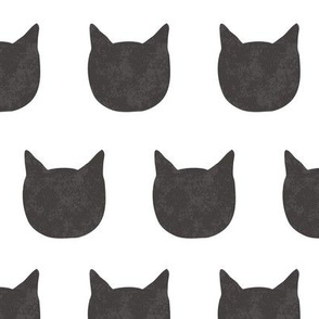 cat pattern - black