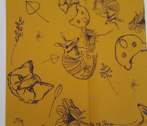 #SFDesignaDay1 - pencil animals