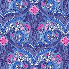 julie_lamb_art_nouveau_blue