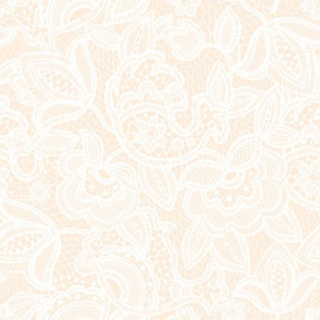 Blush Sprigs and Blooms Coordinate Lace 2