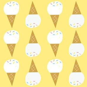 vanilla, please yellow